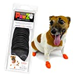 Pawz Dog Boots   Dog Paw Protection with Dog Rubber Booties   Dog Booties for Winter, Rain and Pavement Heat   Waterproof Dog Shoes for Clean Paws   Paw Friction for Dogs   Dog Shoes (X-Small)