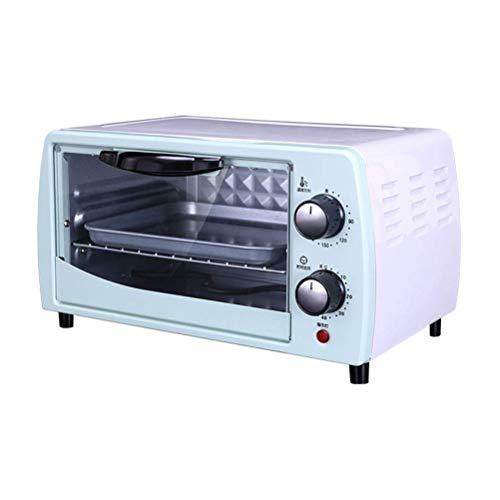 Kauto - Mini horno de 11 litros, tostadora de cocina con recordatorio de sincronización que puede cocinar pan