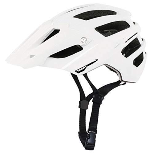 Casque de Sport de vélo de Montagne d'endurance Cross-Country-White