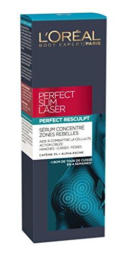 L'Oréal Paris Perfect Slim Amincissant Sérum Concentré Zones Rebelles à Caféine 125 ml -