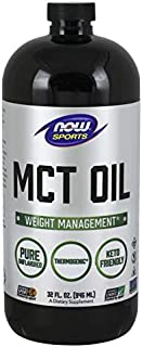 Now Foods 100% MCT Oil 32 Ounce