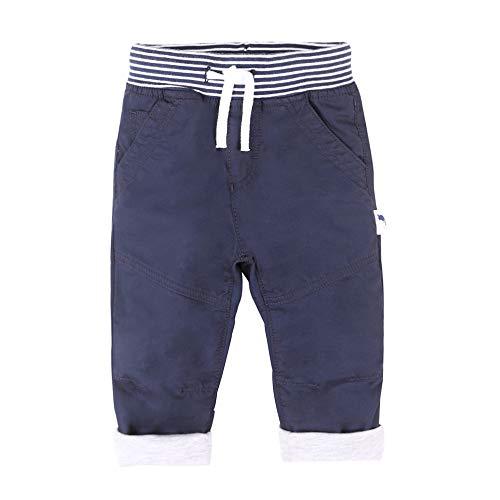 Stummer Baby Mini Boys Garçons Pantalon, Bleu, Taille 74, 9 Mois