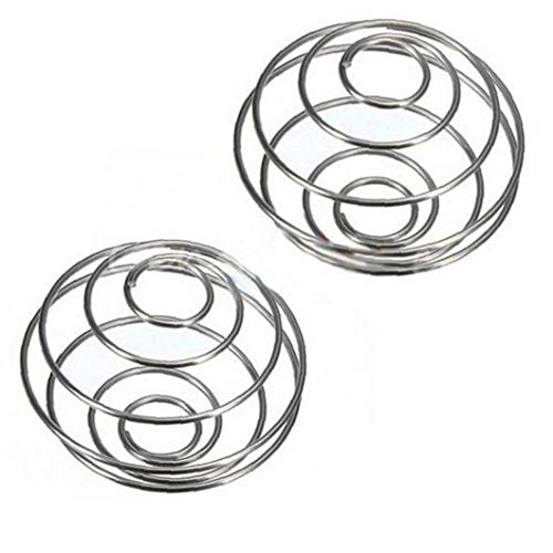 2pcs Stainless Steel Shaker Ball Wire Whisk Protein Mixer Blender Mixing Ball Household Products