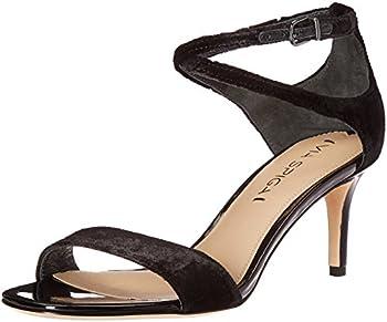 Via Spiga Women s Leesa Heel Sandal Black 6 M US