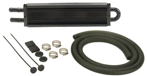 Derale 13200 Power Steering Cooler Kit, Black