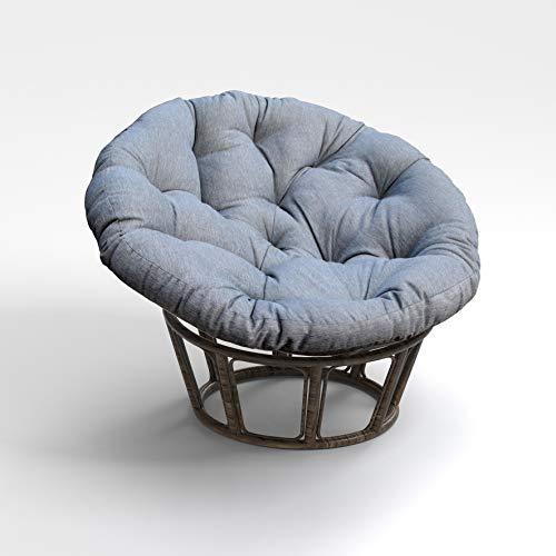 BOSSIMA Papasan Chair Cushion Ground Cushions 44...
