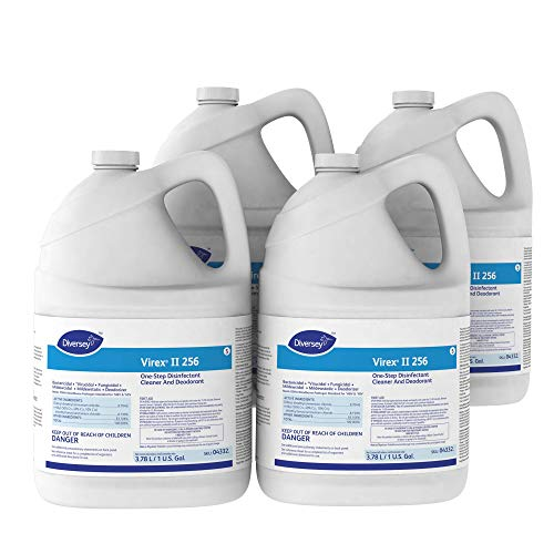 Diversey - 4332 Virex II 256 Broad Spectrum Disinfectant (1-Gallon, 4-Pack)