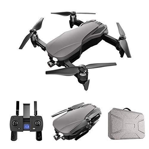 XIAOKEKE Drone GPS Telecamera HD Pieghevole Drone con WiFi FPV App, Controllo Selfie modalità 2.4Ghz, Posizionamento del Flusso Ottico, Posizionamento GPS, Ideale per Principianti E Bambini,4k