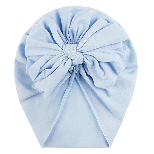 YWLINK Indian Hat-ReciéN Nacido Bebé NiñO NiñA Bebé Sombrero para El Sol Gorro Floral De Bowknot NiñO Turbante Apoyos De Fotos Regalo De Bautismo Infantil Lindo Moda Casual Ropa De NiñOs