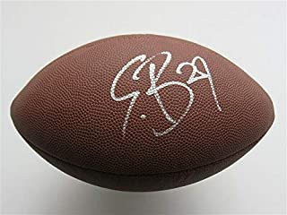 Authentic Autographed Eric Berry Chiefs NFL Football (beckett COA)