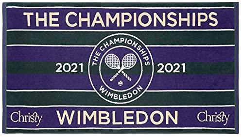 Wimbledon 2021 on Court Herren Tennis Handtuch von Christy