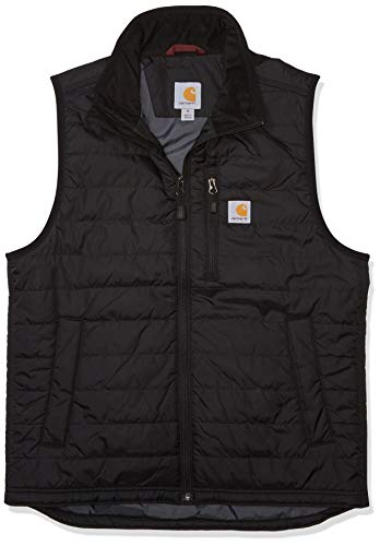 Carhartt Mens Gilliam Vest, Black, XL