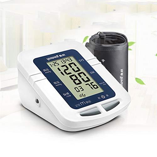LTLGHY Oberarm-Blutdruckmessgerät USB Aufladbar, Elektronisches Blutdruckmessgerät Automatische Messung Von Blutdruck Und Herzfrequenz, 22-32Cm Große Manschette(Mehrweg)