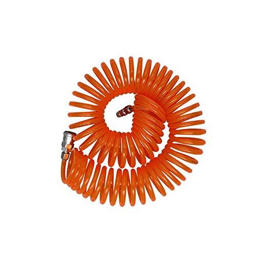 Piezas y accesorios de herramientas de aire Tubo neumático de la primavera, de la PU del compresor de aire del tubo de la correa, bomba de aire de aire de la tubería, de alta presión, resistente al tu