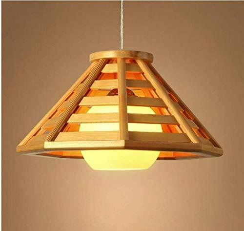 LED van massief hout in Scandinavische stijl.