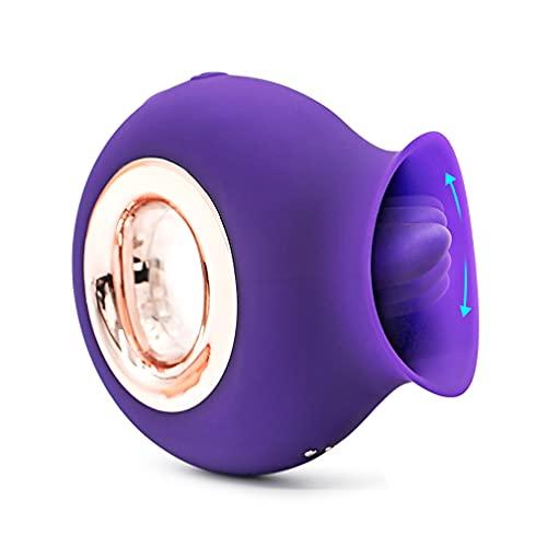 Vibrant Tòy Fòr Wòmen 2021, juguetes mejorados de rosas para mujeres con 10 engranajes, lavable, impermeable, recargable, flor rosa, juguete para mujeres (rosa rosa)