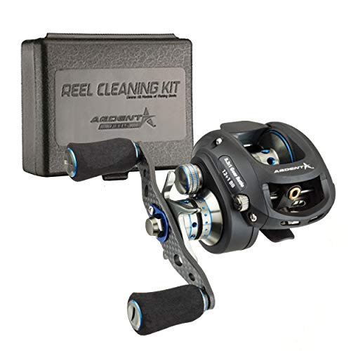 Ardent Apex Elite Baitcaster Bundle with Reel Kleen Cleaning Kit for Freshwater Reels
