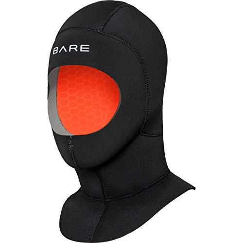 Bare 7mm Ultrawarmth Coldwater Hood Scuba Diving Hood - S