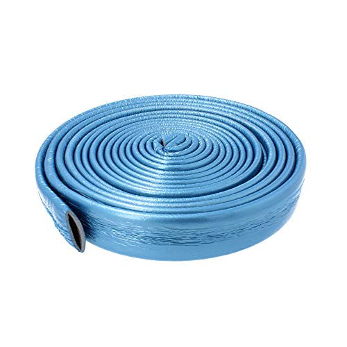 Isolierschlauch Rohrisolierung PEX Isolierung 10m Blau 15 18 22 28 35 varianten (28 mm / 4 mm)