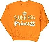 HippoWarehouse Scotch Egg Princess Jersey Sudadera suéter Derportiva Unisex