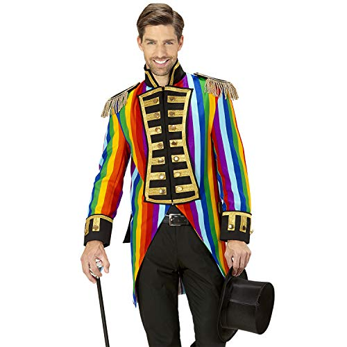 Widmann 59339 - Kostüm Parade, Frack für Männer, Tierbändiger, Rockstar, Zirkusdirektor, Verkleidung, Karneval, Mottoparty