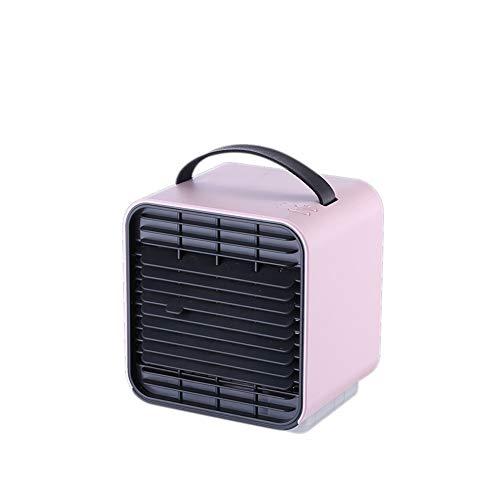 Mini Ion negatieve airconditioning, USB-ventilator, snelle koeling, stil, kleine koude lucht, luchtreiniging, luchtkoeler, multifunctionele ventilator en