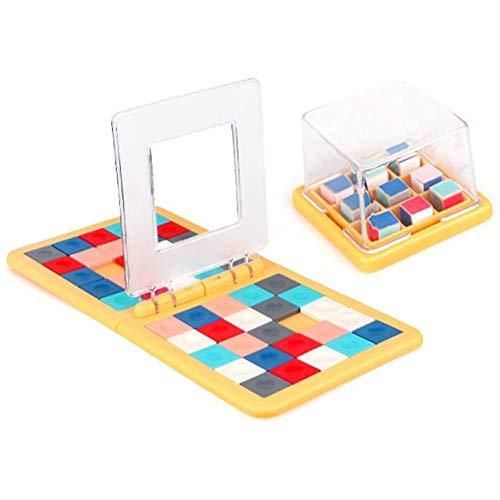 3D Puzzle Blocks Game, Magic Block Game Ouder-kind Activiteit Race Bordspel Dubbelsnelheid Desk Top Game Gift Familie speelgoed voor kinderen Volwassenen
