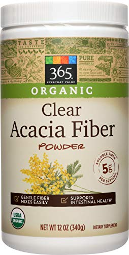 365 Everyday Value, Organic Clear Acacia Fiber, 12 oz