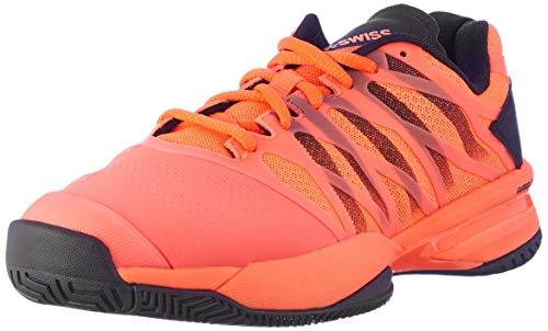 K-Swiss Performance Herren ULTRASHOT Tennisschuhe, Orange (Neon Blaze/Black 22), 44.5 EU