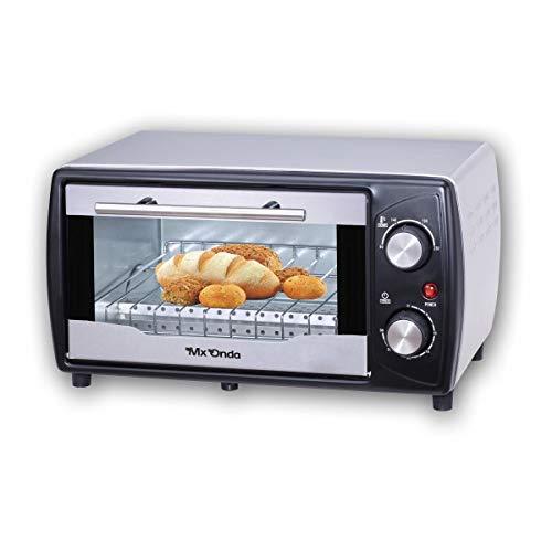 Mx Onda MX-HC2159 Da tavolo Elettrico 9L 800W Non specificato Nero, Acciaio inossidabile forno