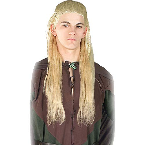 Rubie's Men's Lord Of The Rings Legolas Wig Movie Theme Halloween Accessory
