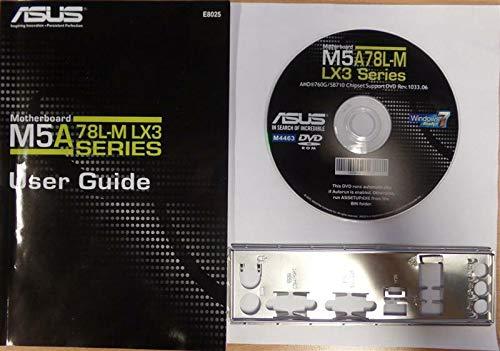 ASUS M5A78L-M LX3 - Handbuch - Blende - Treiber CD