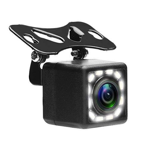 Micarba Voiture Caméra de recul, Aide au stationnement Caméra de recul Grand Angle de 170 ° Vision de Nuit Marche arrière Caméra