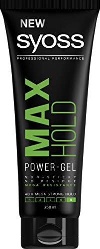 Syoss Gel Max Hold Haargel 250 ml