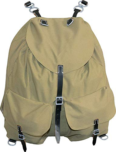 Epic Militaria Vintage Retro WW2 Style German Mountain Troop Rucksack