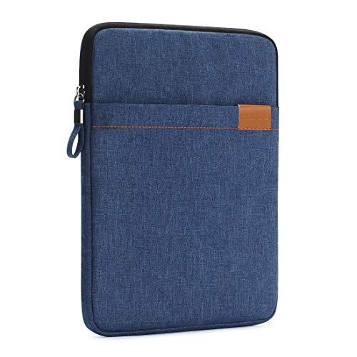 Nidoo - Funda de protección para tablet de 8 pulgadas, impermeable, para iPad Mini 5, Samsung Galaxy Tab S2, Lenovo Tab 4 Plus, Lenovo Tab3, Huawei MediaPad M5, color azul