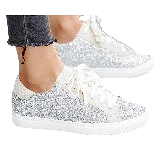 For Sale! Hemlock Teen Lace Up Flat Shoes, Women Running Sneakers Sports Outdoors Shoes Embroidery F...