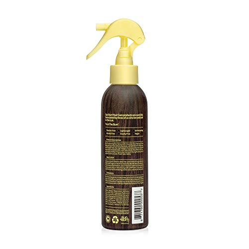 Sun Bum Sea Spray|Texturizing and Volumizing Sea Salt Spray | UV Protection With a Matte Finish | Medium Hold | For All Hair Types | 6 FL OZ Spray Bottle, Clear (80-41025)