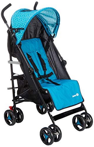 Safety 1st Rainbow - Carrito multiposición compacto y ligero de 6 meses a 3,5 años, color azul