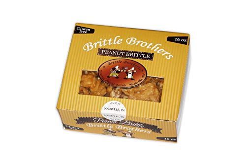 Our #6 Pick is the Brittle Brothers Peanut Brittle