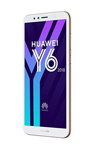 Huawei Y6 2018 Dual-SIM Smartphone 14,5 cm (5,7 Zoll) (3000mAh Akku, 16 GB interner Speicher, Android 8.0) gold