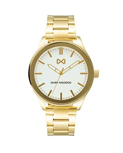 MARK MADDOX - Reloj Acero IP Dorado Brazalete Sr Mm - HM7137-07