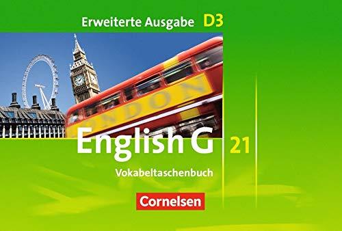 English G 21 - Erweiterte Ausgabe D: Band 3: 7. Schuljahr - Vokabeltaschenbuch