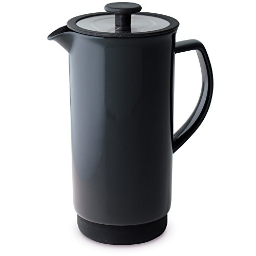 FORLIFE Cafe Style Coffee/Tea Press, 32-Ounce, Black Graphite