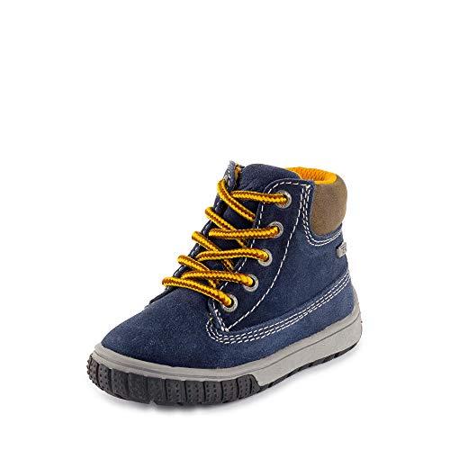 Lurchi Baby-Jungen Johann-TEX Sneaker, Blau (Navy 22), 23 EU