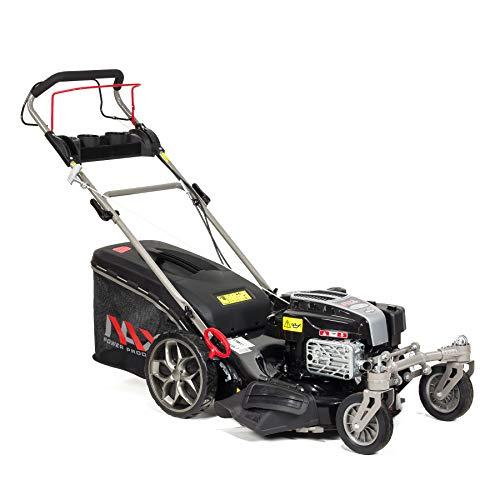 NAX POWER PRODUCTS 4000S Briggs & Stratton Serie 190 cm3 ReadyStart Ancho de Corte Cesta 75l Ruedas giratorias Delanteras cortacésped a Gasolina con propulsión, Negro, NAX4000S 875EXi 51 cm