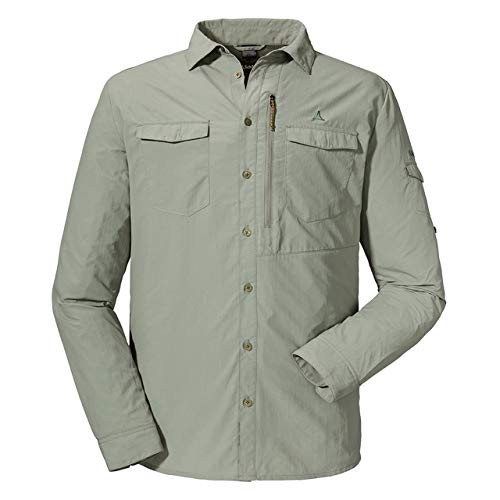 Schöffel Herren Shirt Gibraltar1 UV Hemd, Shadow, 50