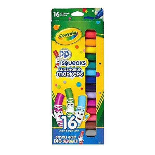Crayola Pip Squeaks Marker Set, 64 Count Now $11.20 (Was $21.99)