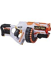 Hasbro Nerf Ultra One Motorized Blaster – Weiterentwickeltes Design, Trommelmagazin mit hoher Kapazität, 25 Nerf Ultra Darts – die Nerf Darts mit der höchsten Reichweite Aller Zeiten