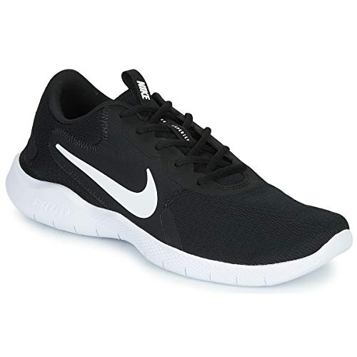 Nike Flex Experience Run 9 Sportschuhe Herren Schwarz/Weiss - 47 1/2 - Laufschuhe